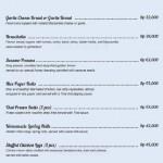 menu Brazilian Aussie BBQ