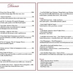 menu les buku restaurant