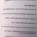 menu chez gado-gado seminyak