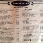 menu Made's Warung Seminyak