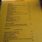 menu warung ongan & tahari sushi 2