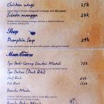 menu warung sunset bali