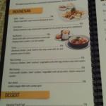menu cafe moonlight Seminyak