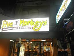 Five Monkey Burger