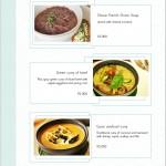 menu segara asian grill Kuta