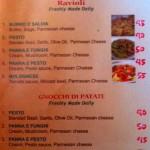 menu warung italia seminyak