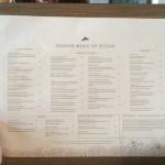 menu petani restaurant Ubud