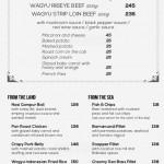 menu gardin bistro petitenget Bali