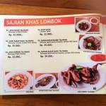 menu rasa lombok Denpasar
